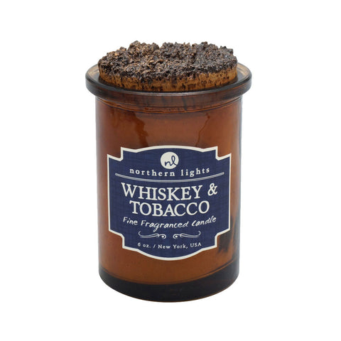 Whiskey & Tobacco Apothecary Candle