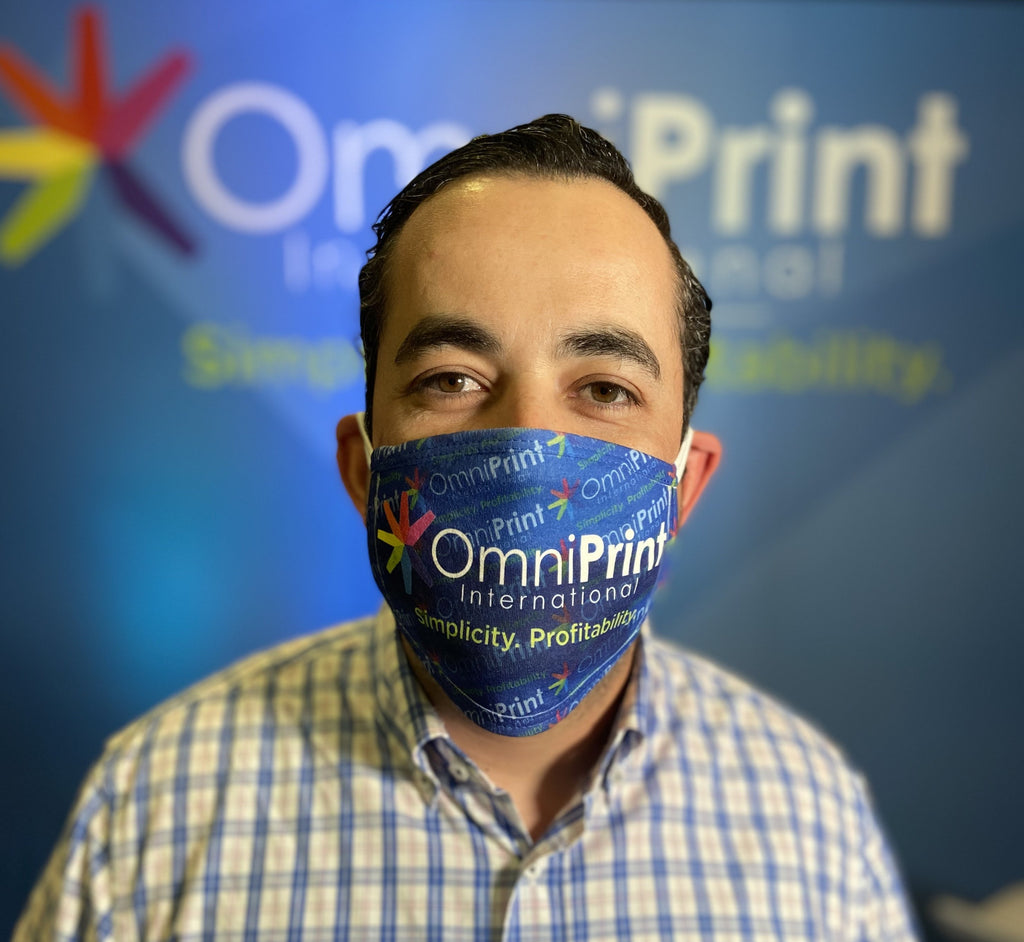 Printable Facemask With Filter Pocket! OmniPrint Decorators Deal