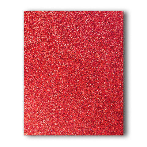 Cherry Glitter Direct-Cut (Sticky PET) Sample