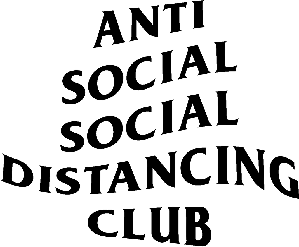 Mens Antisocial Distancing Tee