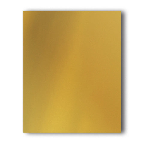 Gold Direct-Cut Metallic(Sticky PET) Sample