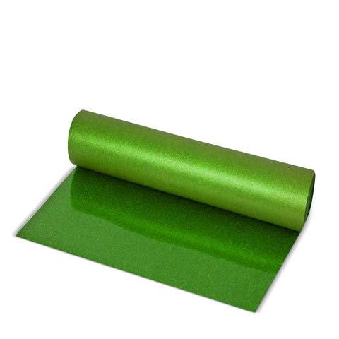 Green Glitter Direct-Cut (Sticky PET)
