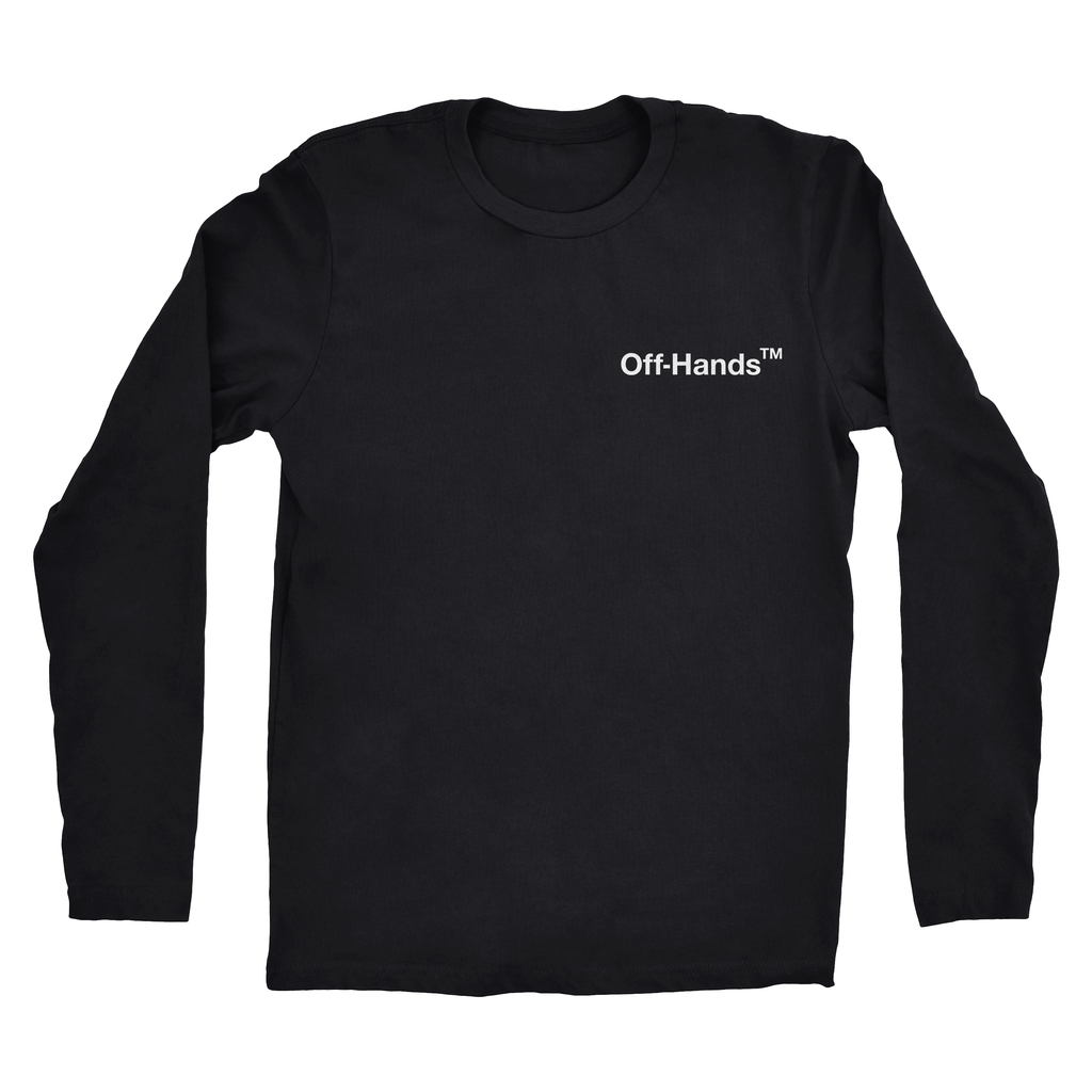 Mens Off Hands Long Sleeve Tee