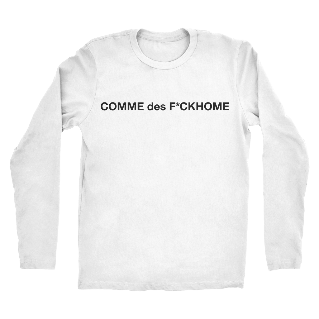 Mens COMME des F*CKHome Long Sleeve Tee