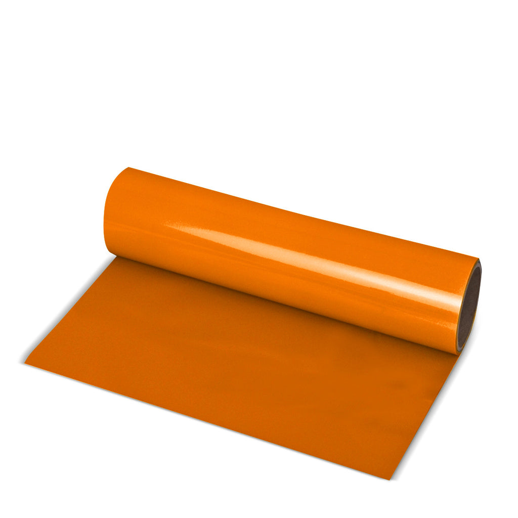 Orange Direct-Cut PU (Sticky PET)