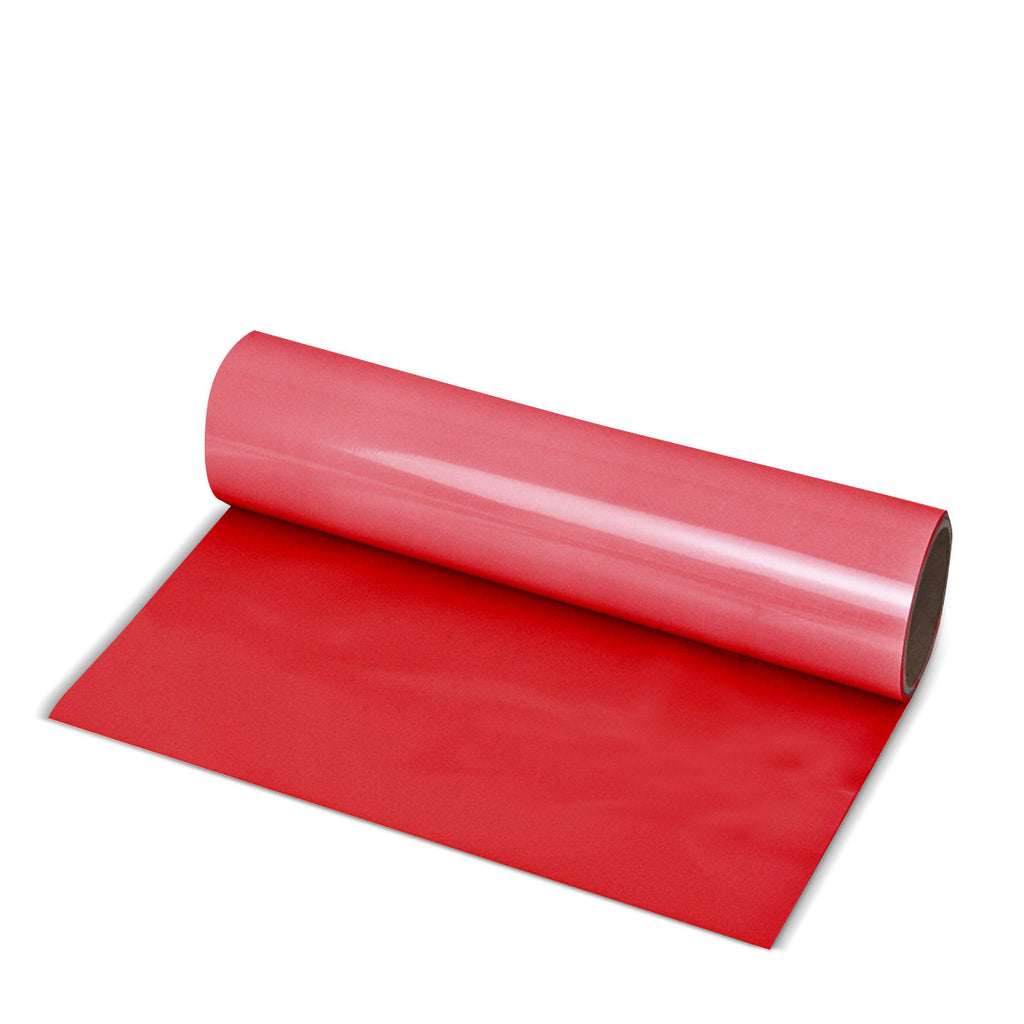 Red Direct-Cut PU (Sticky PET)