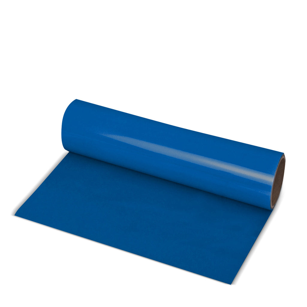Royal Blue Direct-Cut PU (Sticky PET)