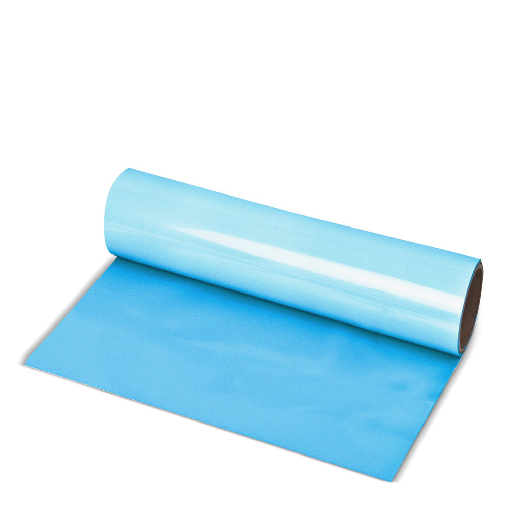 Sky Blue Direct-Cut PU (Sticky PET)