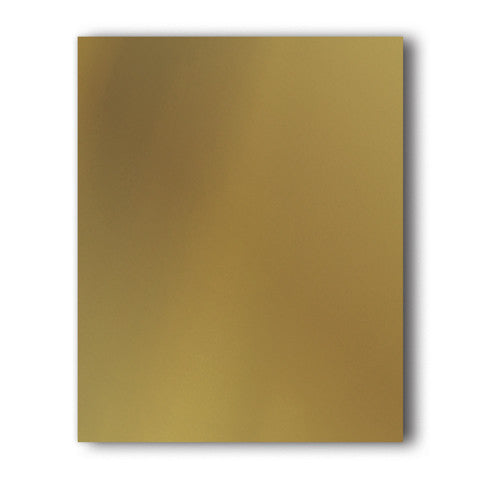 Gold Direct-Cut Soft Metallic(Sticky PET) Sample