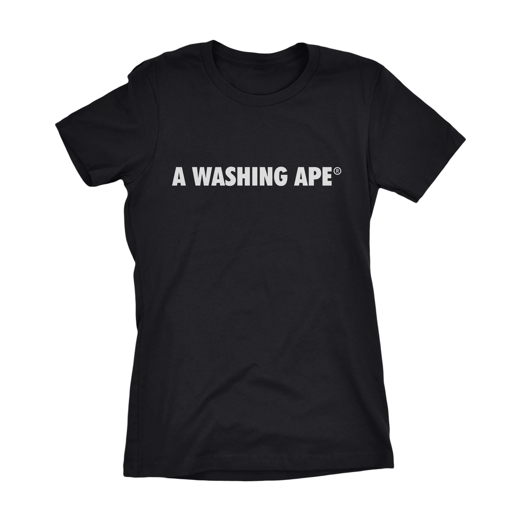 Ladies A Washing Ape Tee
