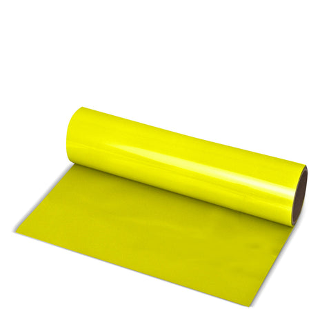 Lemon Yellow Direct-Cut PU (Sticky PET)