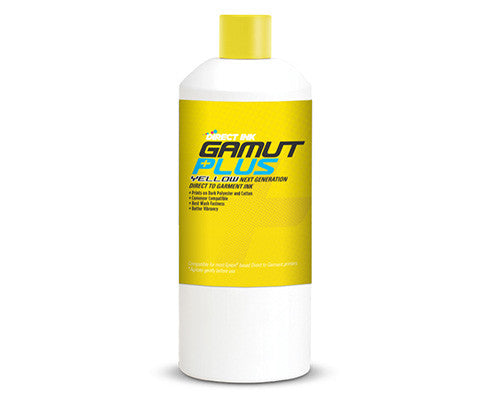 Gamut Plus Direct to Garment Ink - Yellow