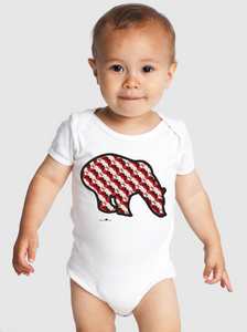 So Cultured Onesie - Neural Traffic Stop - Red