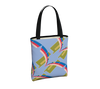 Day to Night Lined Tote - Grace Jones - Powder Blue