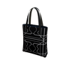 Day to Night Lined Tote - 3 Years - Black/White