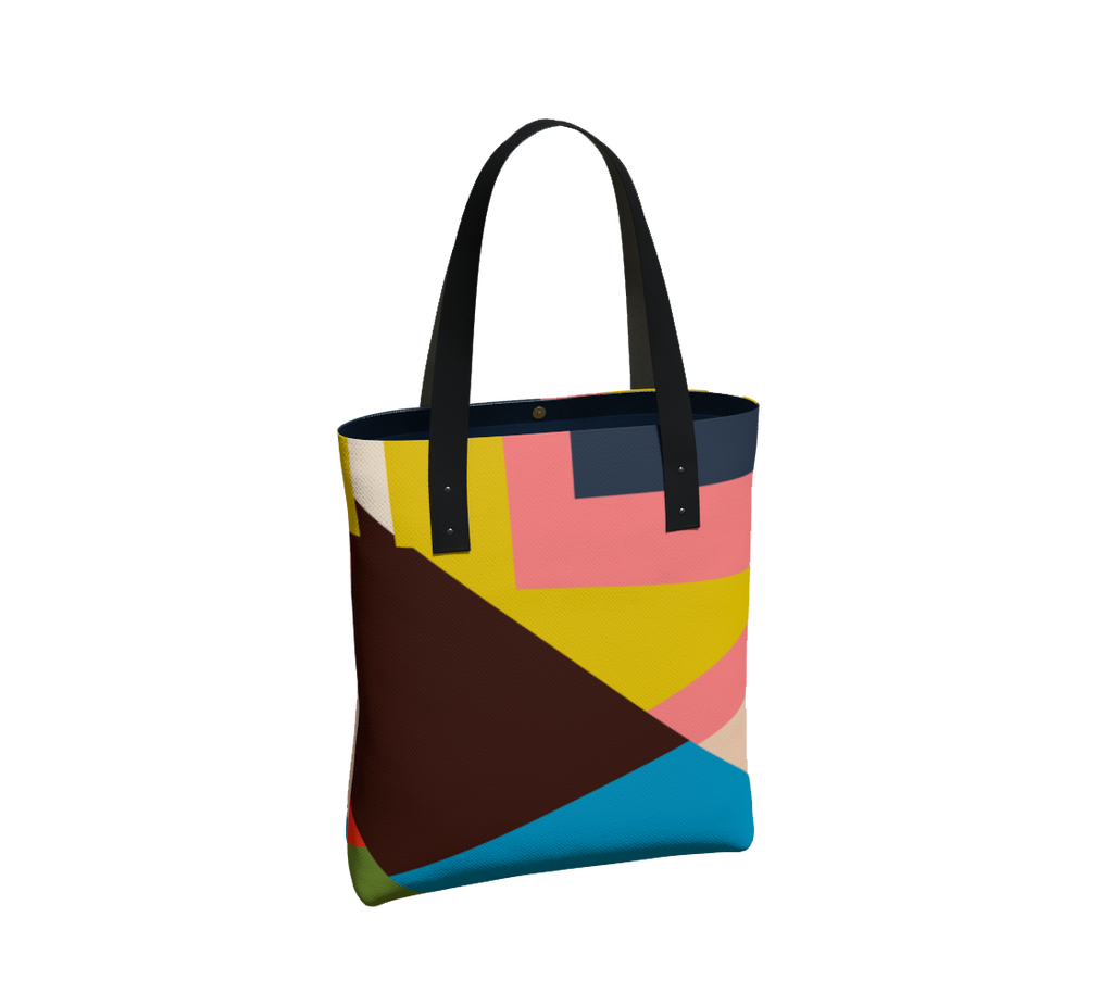 *Then What* Classic Lined Tote - Multi
