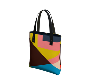 Day to Night Lined Tote - THEN WHAT - Multi