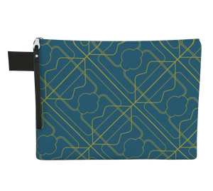 Carry Me Home Clutch - Three Years  - Aqua /  Maize