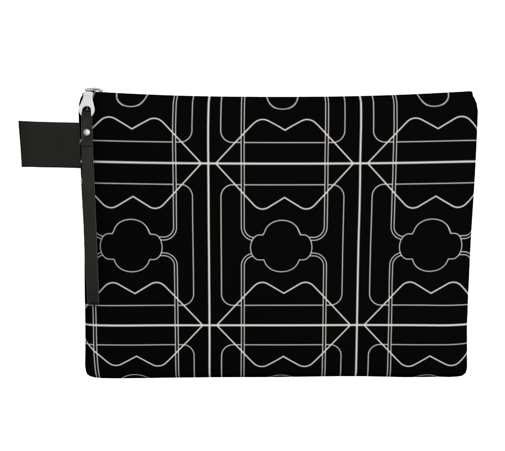 Carry Me Home Clutch - 3 Years  - Black/White