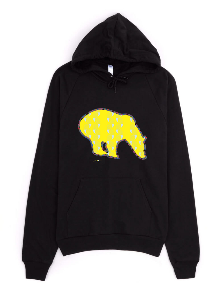 Men's Signature Hoodie - Coup de Grace - Yellow