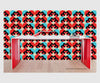 So Fine Luxurious Wallpaper - Neural Pinball Traffic - Red/Blue #Valentine