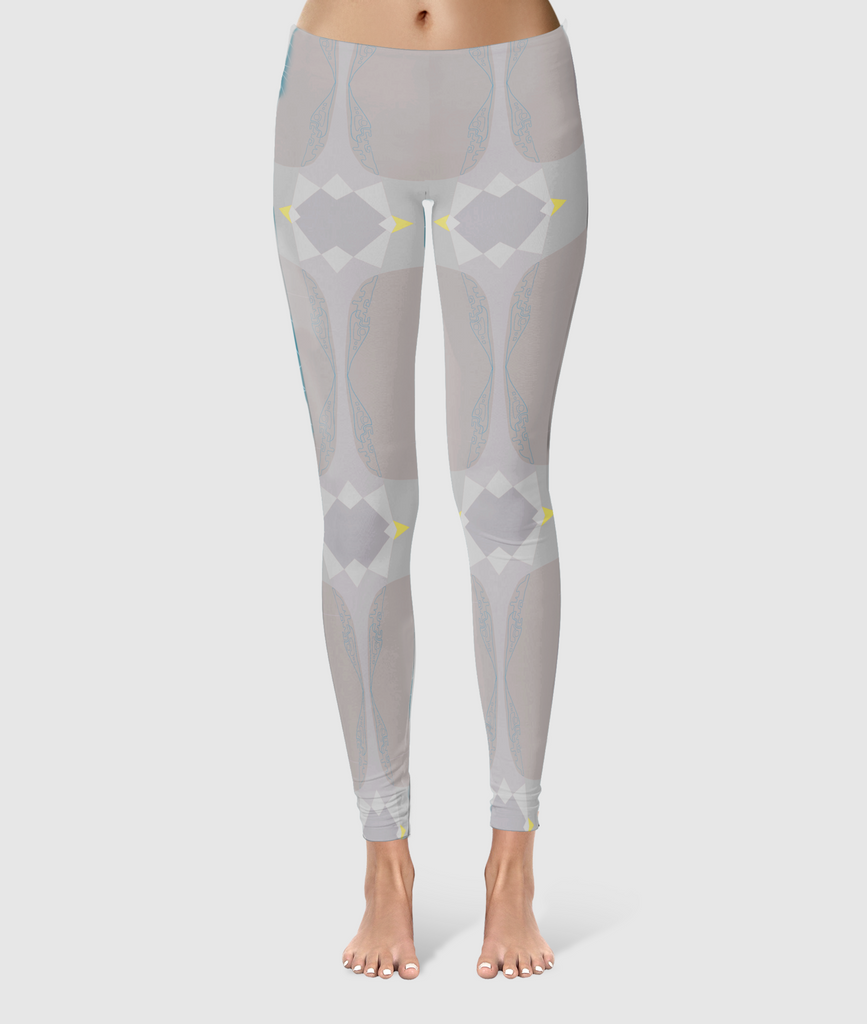 Women's Glorious Day to Night Leggings - Always Ask Why - Grey