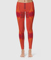 Women's Glorious Day to Night Leggings - Always Ask Why - Orange