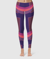 Women's Glorious Day to Night Leggings - Grace Jones - Purple/Pink