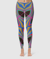 Women's Glorious Day to Night Leggings - Going To Smash - Multi