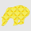 So Fine Playful Wall Hugs - Neural Traffic Graphic - Yellow/Maize