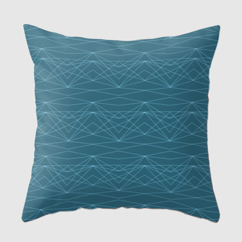 Spoken Pillow - Divine Grace - Blue