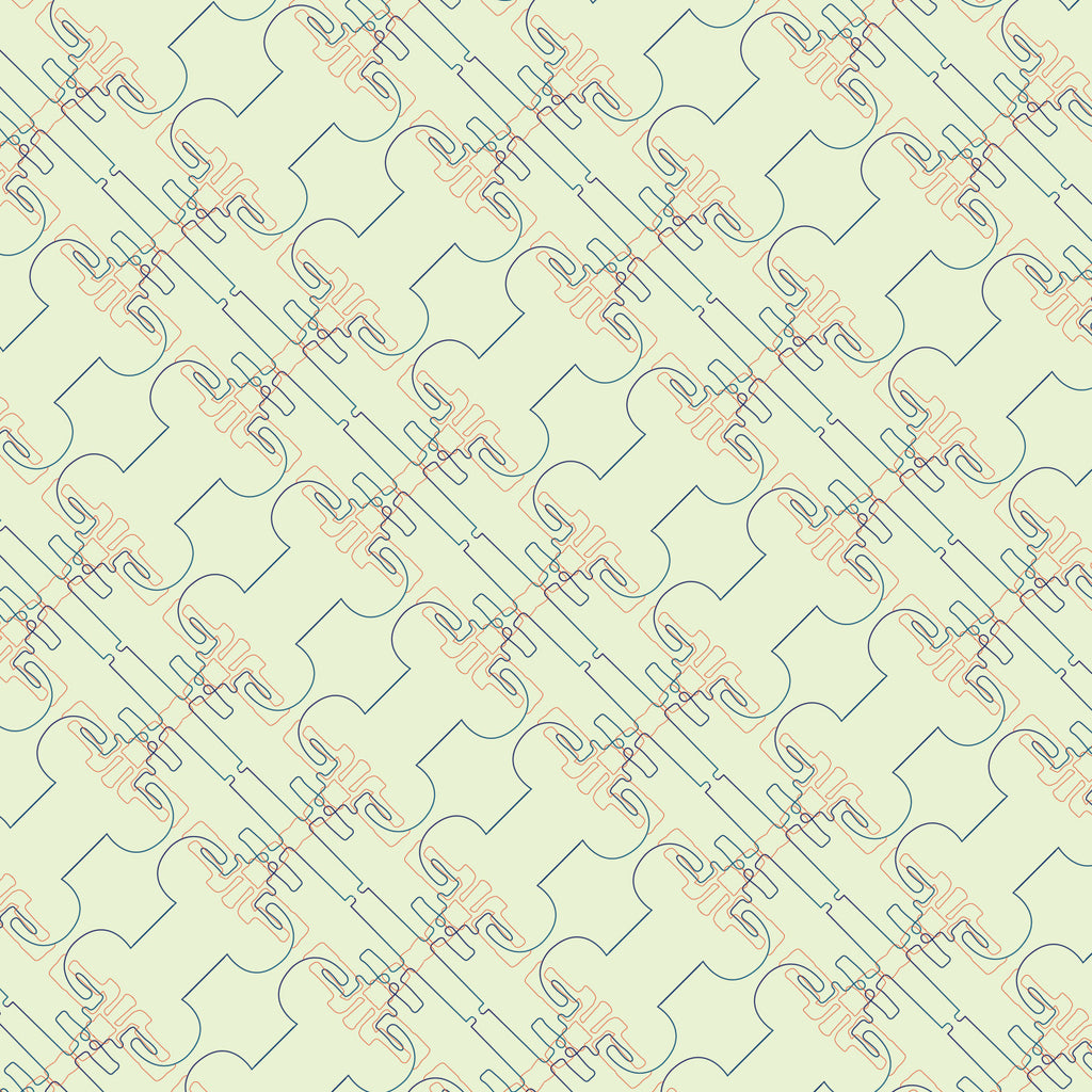 So Fine Luxurious  Wallpaper - Kung Fu Move - Beige/Navy