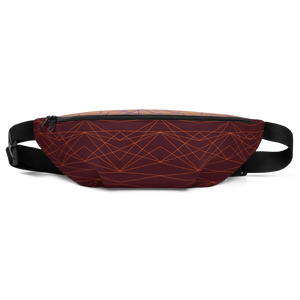 So Fine Fanny Pack - Divine Grace - Burgundy/Orange