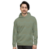Day To Night Unisex Hoodie - Divine Grace - Olive / Aqua