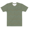 Day To Night Men's T-shirt - Divine Grace - Olive/Aqua