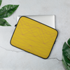 Sky's The Limit Laptop Sleeve - Divine Grace - Yellow/Burgundy