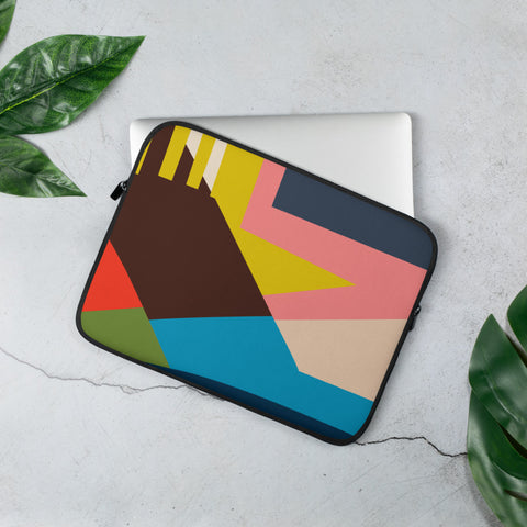 Sky's The Limit Laptop Sleeve - THEN WHAT - Multi