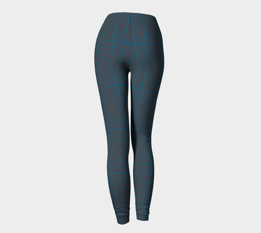 Women's Glorious Day to Night Leggings - 3 Years - Electric Blue