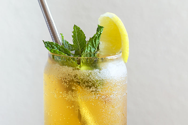 Shaken Caramel Mint Tea Soda Recipe | Stash Tea