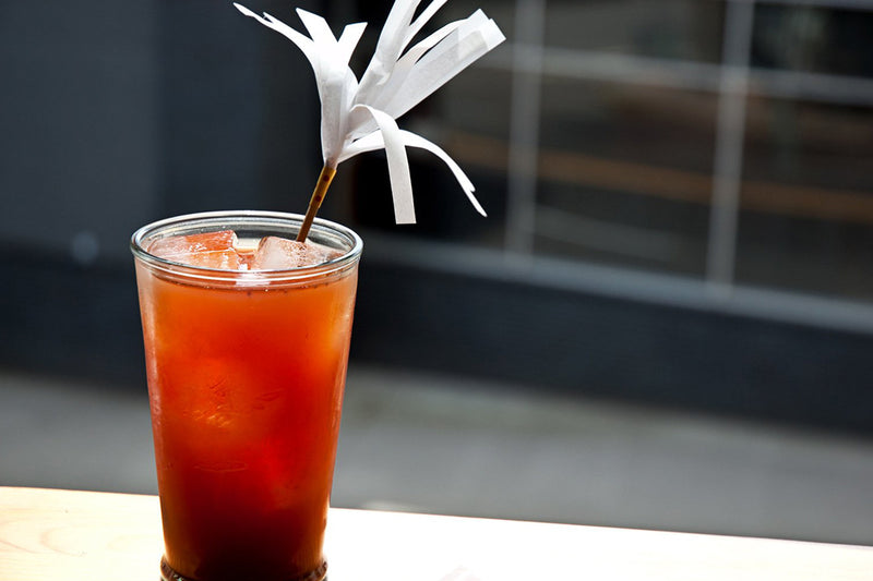 Berry Black Tea Cocktail