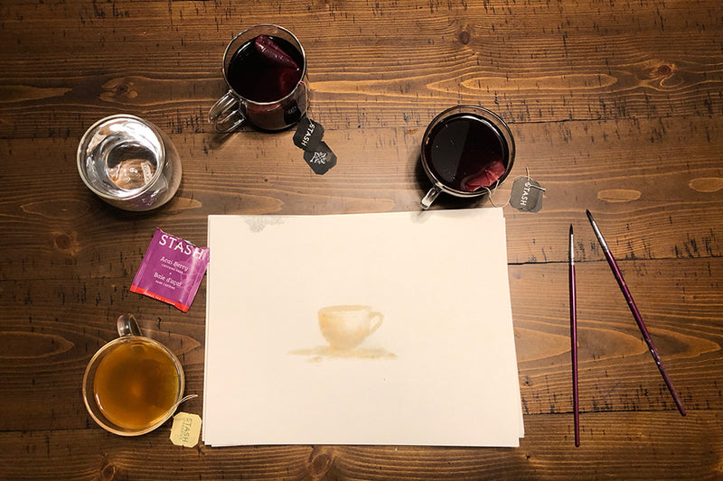 Paint with Tea | Stash Tea