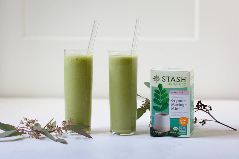 Moringa Mint Tea Smoothie