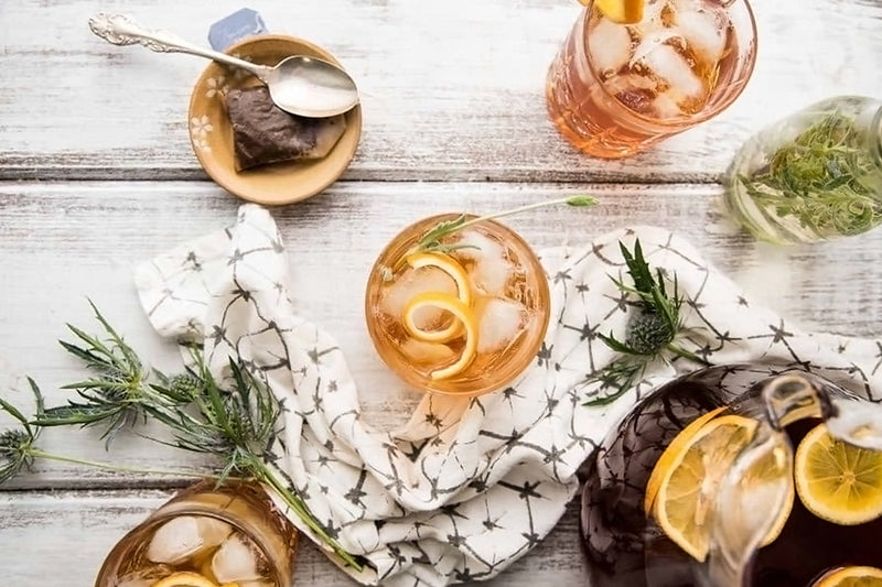 Earl Grey Lavender Bourbon Punch Tea Recipe | Stash Tea