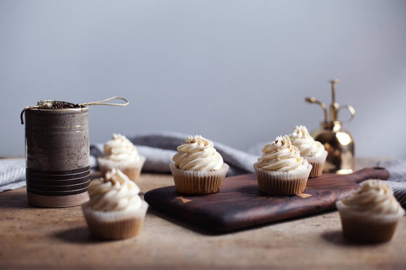 Sweet & Spicy Chai Tea Latte Cupcakes