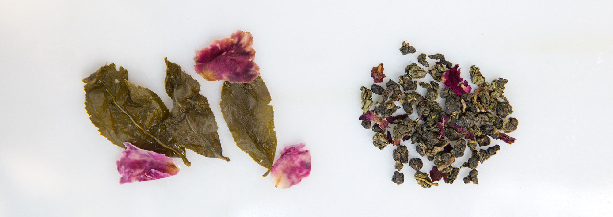 Rose-Scented Oolong Tea