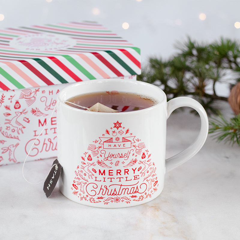Merry Little Christmas Mug in Gift Box | Stash Tea