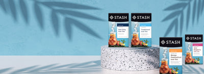 New Iced Tea Flavors & Packaging | Stash Tea