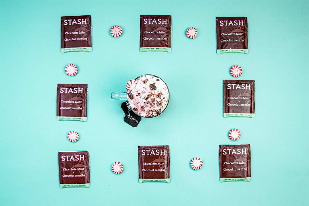DIY Chocolate Peppermint Latte Recipe | Tea Latte | Stash Tea