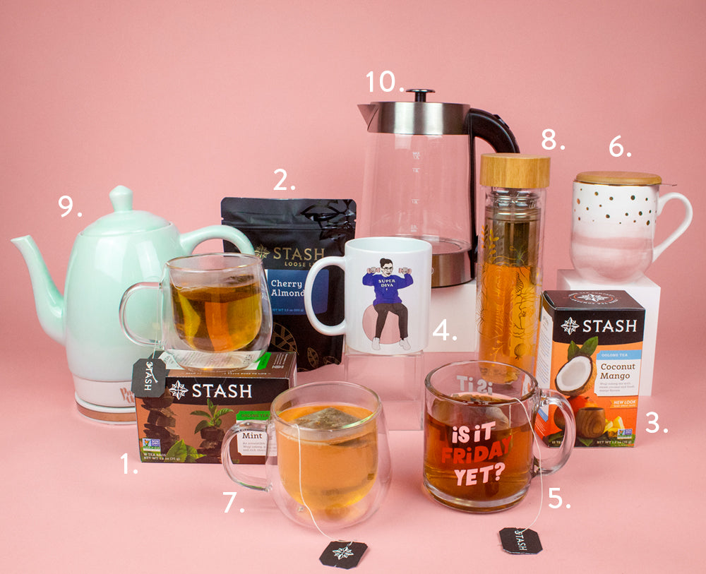 Mother's Day Tea Gift Guide for Not a Regular Mom but for a Cool Mom | Stash Tea
