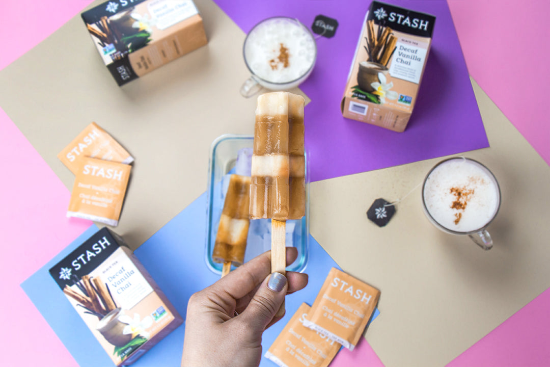 Homemade Chai Vanilla Popsicle Recipe | Stash Tea